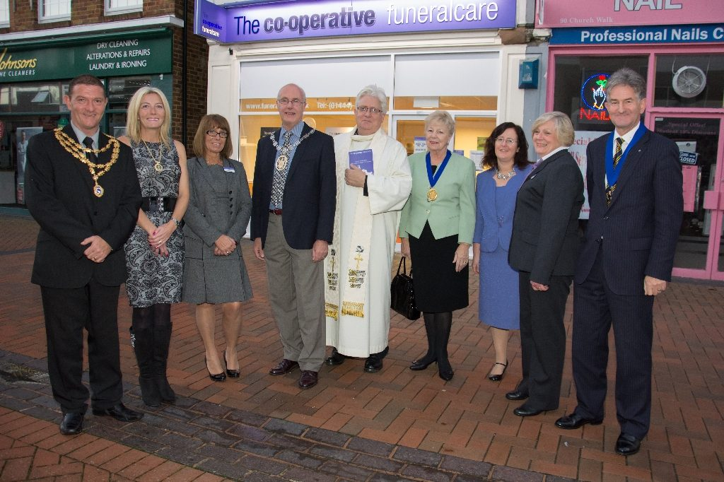 Burgess Hill funeralcare opening