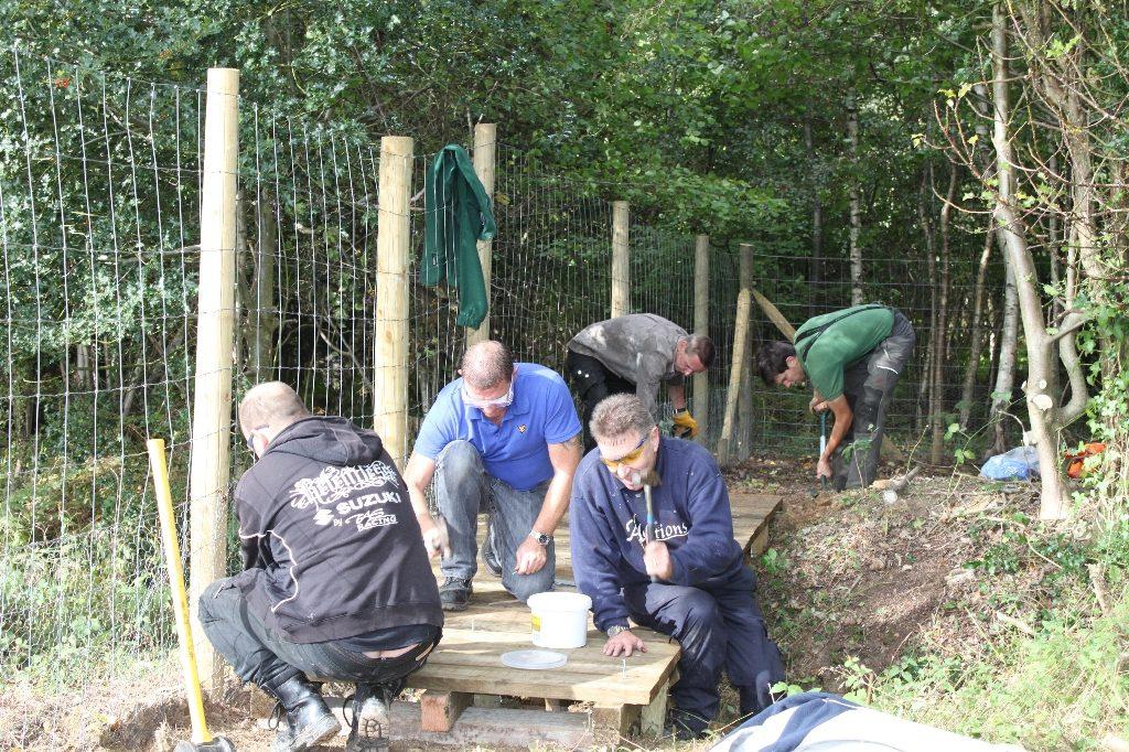 volunteering at crematorium natural pond