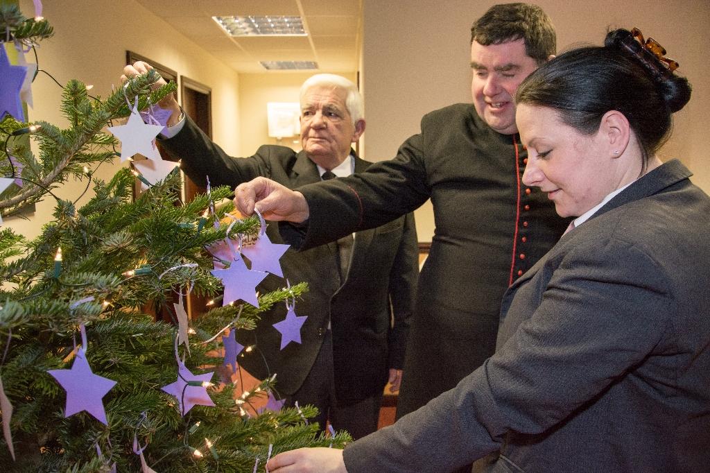 Fratton Christmas tree blessing Dec 13