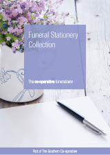 Funeral stationery collection