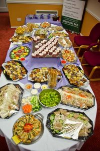 Photo of food platter - The Southern Co-operative Funeralcare