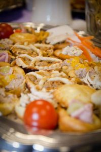 Food platter photo - The Southern Co-operative Funeralcare