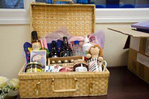 Picnic hamper prize - The Southern Co-operative Funeralcare