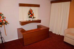 Photo inside Co-operative Funeralcare Lake branch