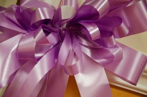 Photo of a purple ribbon - The Southern Co-operative Funeralcare