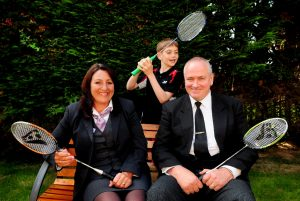 Aaron Scott Roberts with Jayne Brading and Dave Harry from The Southern Co-operative Funeralcare