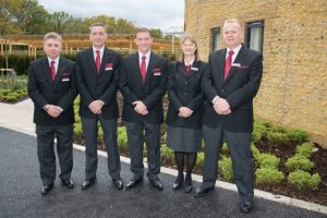 Photo of The Oaks crematorium team - The Southern Co-operative