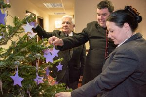 Photo of Fratton Christmas tree blessing Dec - The Southern Co-operative