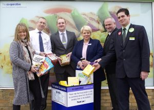 Photo of the Isle of Wight Foodbank partnership - The Southern Co-operative