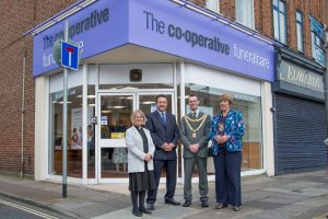 Photo of The Southern Co-operative Funeralcare branch opening Cosham May 2014