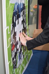 Image of jigsaw used for children's charity by The Southern Co-operative Funeralcare
