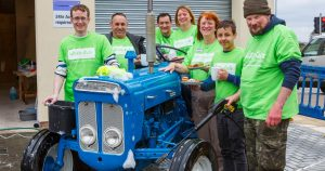 The Southern Co-operative Shaftesbury charity car wash