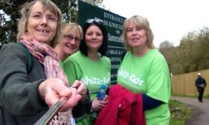 Image of The Southern Co-operative Funeral Co-ordinators on 10 mile walk
