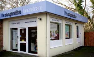 Photo of the front of The Co-operative Funeralcare branch Ashvale