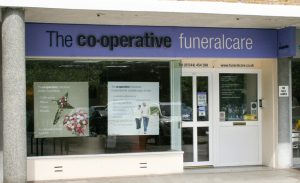 Photo of the front of The Co-operative Funeralcare branch Bracknell