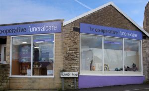 Photo of the front of The Co-operative Funeralcare branch Frome