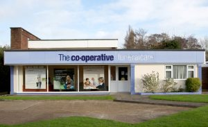 Photo of the front of The Co-operative Funeralcare branch Havant