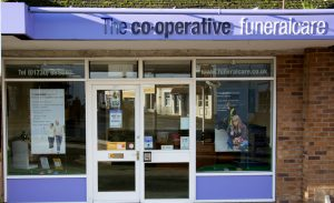 Photo of the front of The Co-operative Funeralcare branch Liss