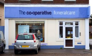 Photo of the front of The Co-operative Funeralcare branch North Bersted
