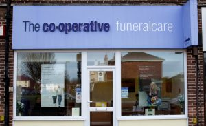 Photo of the front of The Co-operative Funeralcare branch Rowner, Gosport