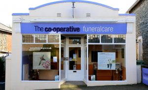 Photo of the front of The Co-operative Funeralcare branch Ryde