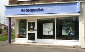 Photo of the front of The Co-operative Funeralcare branch Basingstoke