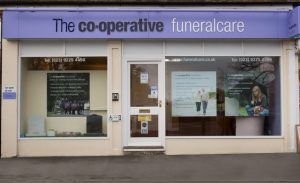 Photo of the front of The Co-operative Funeralcare branch Cowplain