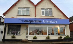 Photo of the front of The Co-operative Funeralcare branch Felpham