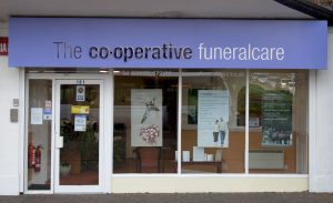 Photo of the front of The Co-operative Funeralcare branch Paulsgrove
