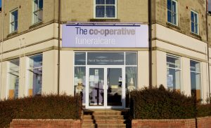 Photo of the front of The Co-operative Funeralcare branch Shaftesbury