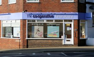 Photo of the front of The Co-operative Funeralcare branch Shanklin