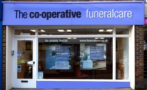 Photo of the front of The Co-operative Funeralcare branch Uckfield