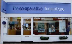 Photo of the front of The Co-operative Funeralcare branch Hayling Island