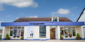 Photo of the front of The Co-operative Funeralcare branch Rose Green, Bognor Regis