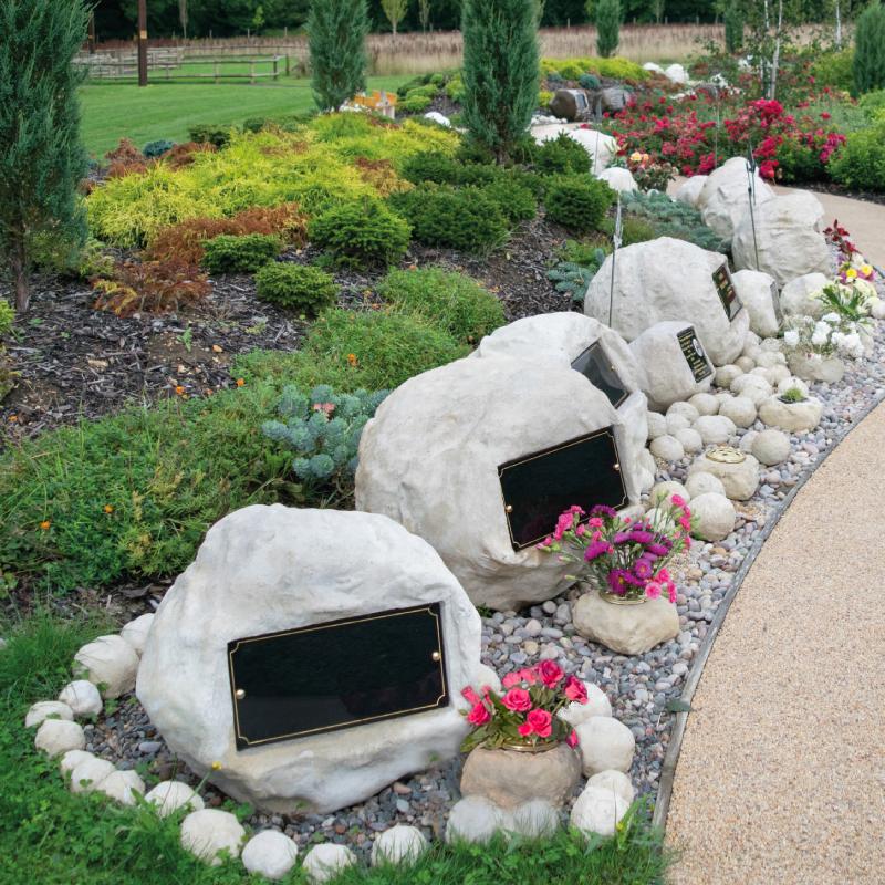 Stone Orbs Memorials