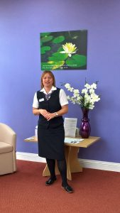 Image of Suzanne Smith, Funeral Co-ordinator for The Southern Co-operative Funeralcare in Shaftesbury.